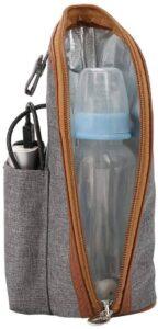 Chauffe-Lait Maternel Electrique Sac Housse Chauffe-Lait Portable Chauffe Biberon de Voyage USB pour Repas de Bébé Zerodis