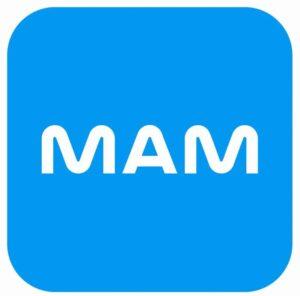 logo Chauffe-biberon Mam